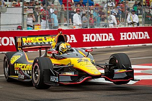 IndyCar Race report Servia leads season opener in the streets of St.Pete