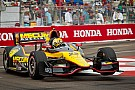 Servia leads season opener in the streets of St.Pete