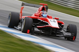GP3 Testing report Ellinas quickest on first day of testing at Silverstone