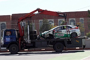 WTCC Race report Morocco fails Tiago Monteiro