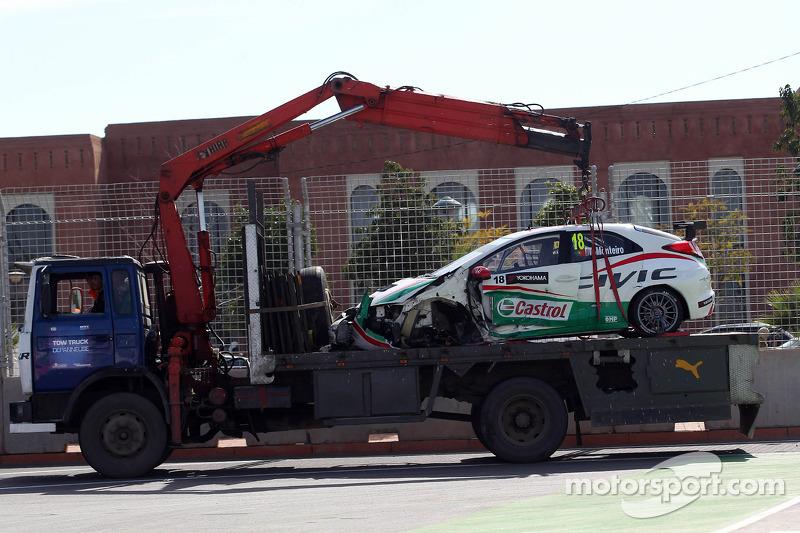 Morocco fails Tiago Monteiro