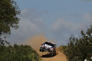 WRC Leg report Østberg rolls from Rally de Portugal lead on leg one