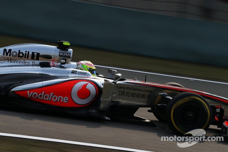 Eighth place for Button after qualifying at Shanghai