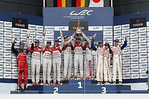 WEC Race report One-two victory for Audi at Silverstone