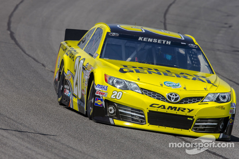 Kenseth claimed his second career pole at Kansas Speedway