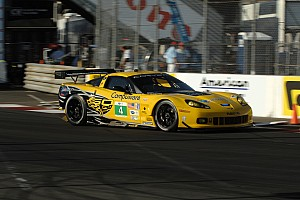 ALMS Race report Corvette Racing finished 4th and 5th at Long Beach