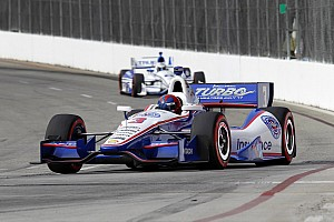 IndyCar Race report Penske's Castroneves is top-10 in Long Beach and remain leading championship