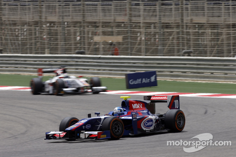 Palmer shows fighting spirit to score valuable points in Bahrain