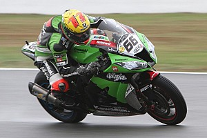 World Superbike Qualifying report Sykes uncatchable in Friday qualifying on rainy day in Assen