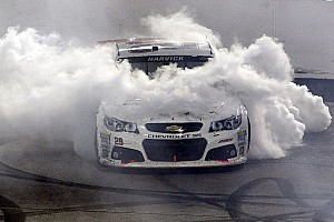 NASCAR Cup Race report Harvick takes Saturday night thriller in final laps at Richmond
