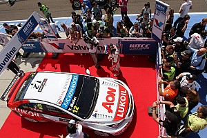 WTCC Race report Yvan Muller claims 33rd career win in Budapest