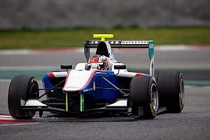 GP3 Practice report Niederhauser sets early pace in free practice at Round 1 at the Circuit de Catalunya