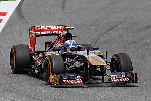 Formula 1 Qualifying report Positive qualifying for Toro Rosso at the Circuit de Catalunya