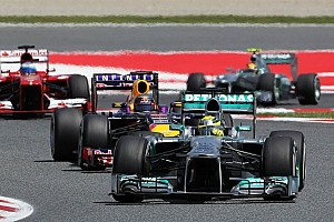 Formula 1 Race report Not a good day for Rosberg and Mercedes at Barcelona