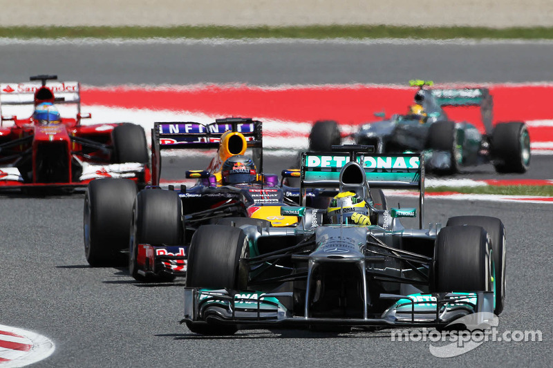 Not a good day for Rosberg and Mercedes at Barcelona