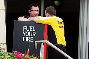 Formula 1 Breaking news Tyre change 'like widening football goals' - Boullier