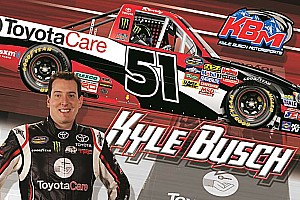 NASCAR Truck Preview Odds for Kyle Bush win in Charlotte are 4 in 7