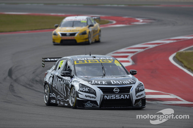 Rick Kelly and his Nissan take top 10 clean-sweep in Austin