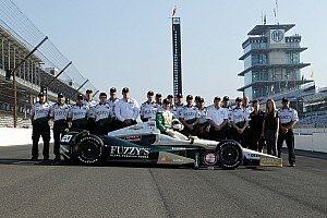 IndyCar Practice report Carpenter: Hot, slippery track makes for tricky conditions in race prep