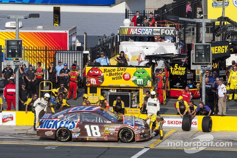 Kyle Busch heading to Charlotte 600 for a win