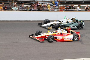IndyCar Race report Two Penske drivers are top-seven in 97th Indianapolis 500