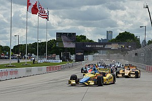 """IndyCar Race report Conway a frequent flyer in Detroit """"Dual 1"""""""