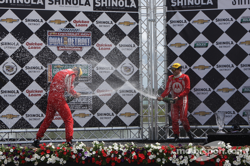 Segal and Papis gives team first podium finish in Detroit
