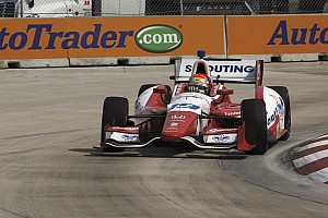 IndyCar Race report Disappointment in Detroit for Justin Wilson