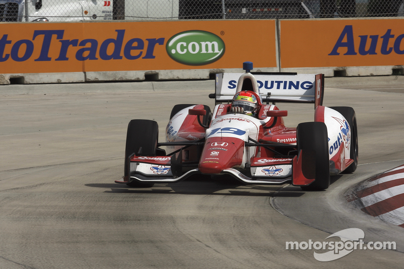 Disappointment in Detroit for Justin Wilson