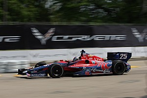 IndyCar Race report Sixth top-10 finish for Marco Andretti on 'Dual 2' in Detroit