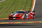 Five Ferrari 458 Italia GT2 for the only Italian team at Le Mans