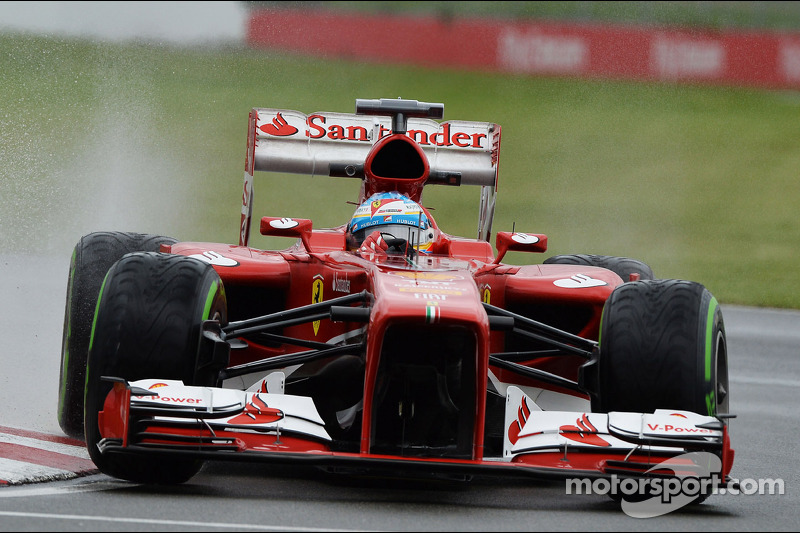 An unpredictable qualifying for Ferrari in Canada
