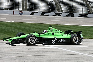 IndyCar Race report Franchitti leads Honda finishers in Texas