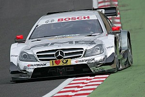 DTM Qualifying report Mercedes-Benz buries qualifying jinx - pole for Vietoris