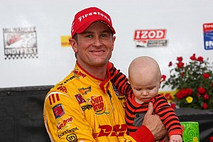 IndyCar Race report Hunter-Reay wins at Milwaukee IndyFest