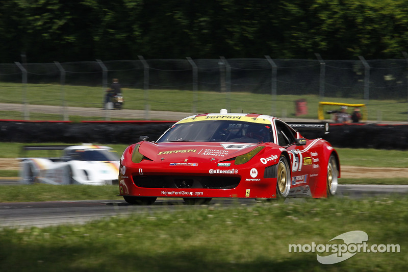 Segal rebounds for eighth-place finish at Mid-Ohio Sports Car Course