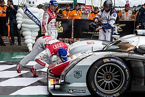 Le Mans Race report Audi e-tron quattro wins again at Le Mans