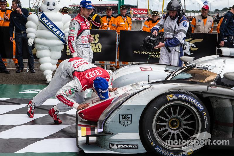 Audi e-tron quattro wins again at Le Mans