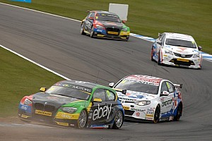 BTCC Race report Turkington doubles up as MG's gamble backfires