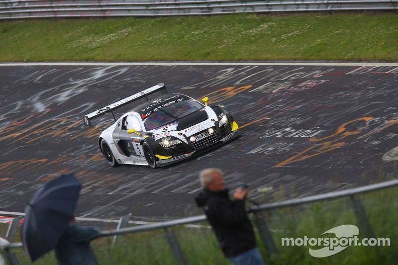 First GT car podium finish for Harold Primat