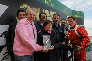 Le Mans Breaking news OAK Racing's Stéphanie Val recieves ACO/UJSF Communications award