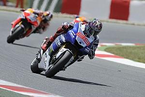 MotoGP Practice report Lorenzo tops day one at Assen but breaks collarbone in afternoon crash