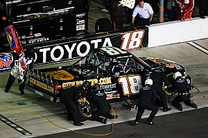 NASCAR Truck Race report Last lap spin relegates Coulter to a 16th-place finish at Kentucky