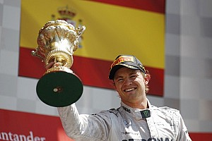 Formula 1 Breaking news Red Bull could have cost Rosberg Silverstone win - report