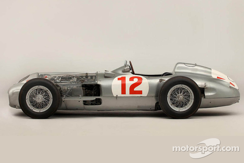 Fangio's Mercedes is the most valuable race car ever sold in an auction