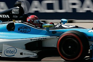 IndyCar Race report Pagenaud 8th, Vautier 19th in Toronto street fight on Saturday