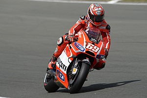 MotoGP Race report Seventh and ninth for Dovizioso, Hayden in German GP