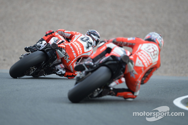 Laguna Seca and the Corkscrew await the Ducati Team