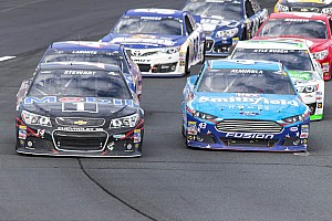 NASCAR Cup Preview Almirola hopes to join Parrott in his tradition of kissing the Bricks