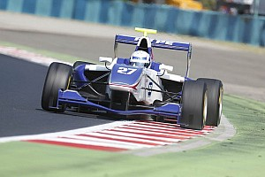 GP3 Race report Vainio holds off Daly for win in Budapest